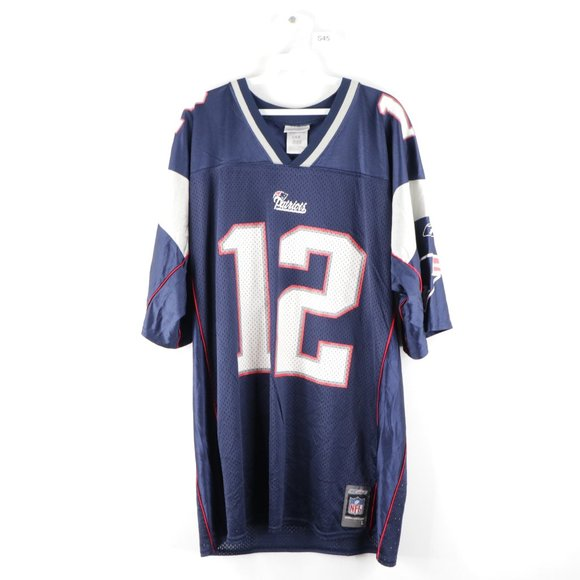 Vintage New England Patriots Tom Brady Jersey